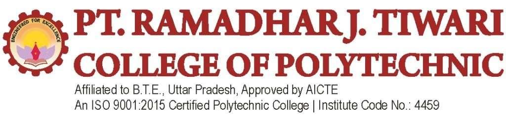 Pt ramsdharj. riwari college of polytechnic logo2